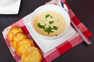 Zupa krem z fenkułem